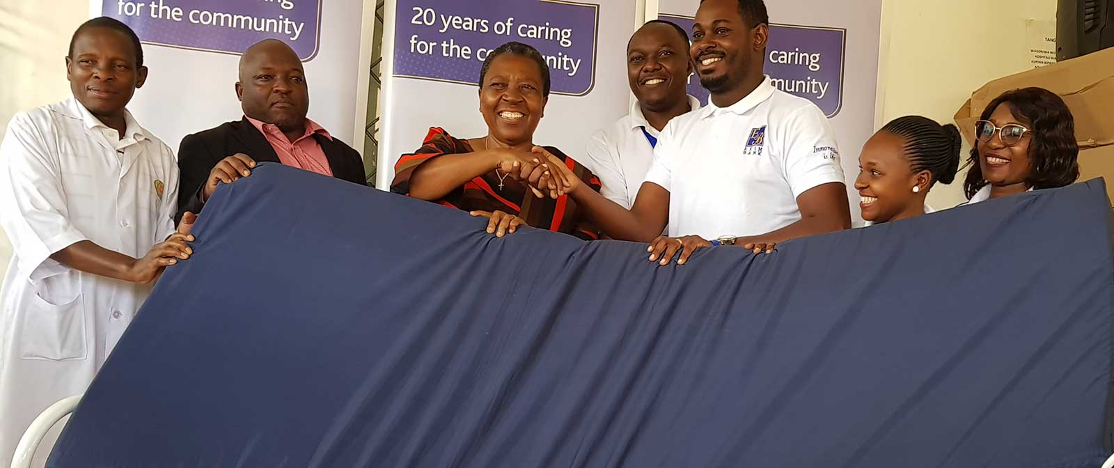 Relief to Morogoro Regional Referral Hospital Through Exim Bank's Year Long Campaign